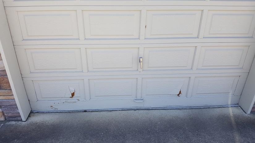 section replacement - garage doors