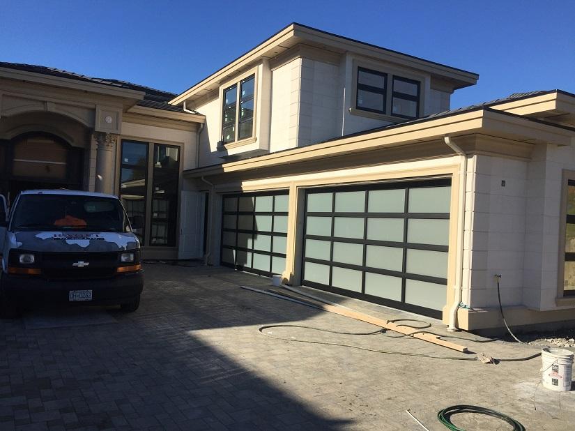 Richmond Glass Garage Door