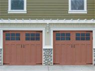 reasonably priced wood garage doors in Vancouver