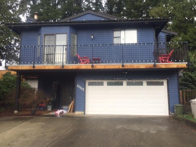 View of garage door installed in North Delta