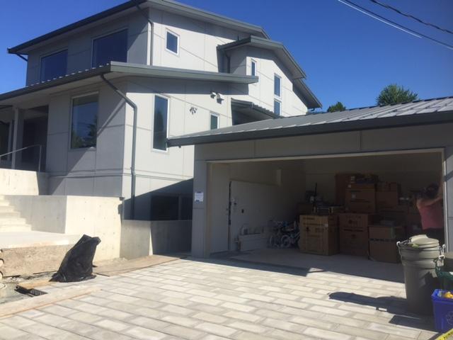 View of Northwest Door Modern Tech Installed in West Van