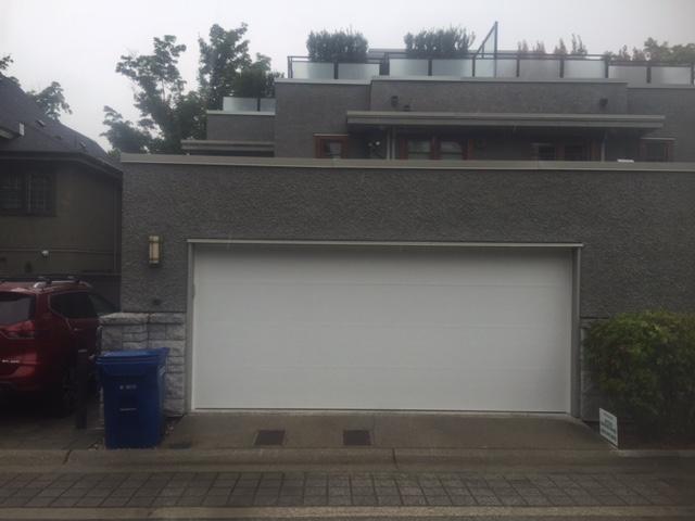 View of Garage Door Installed in Vancouver
