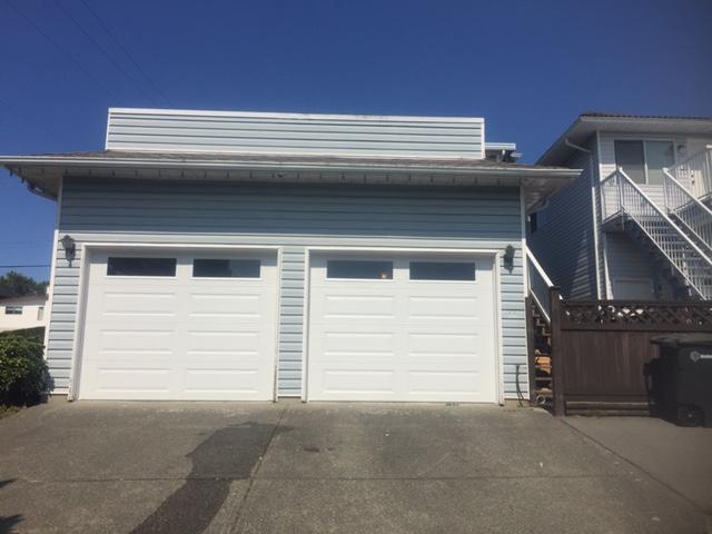 View of Garage Doors Installed in Burnaby